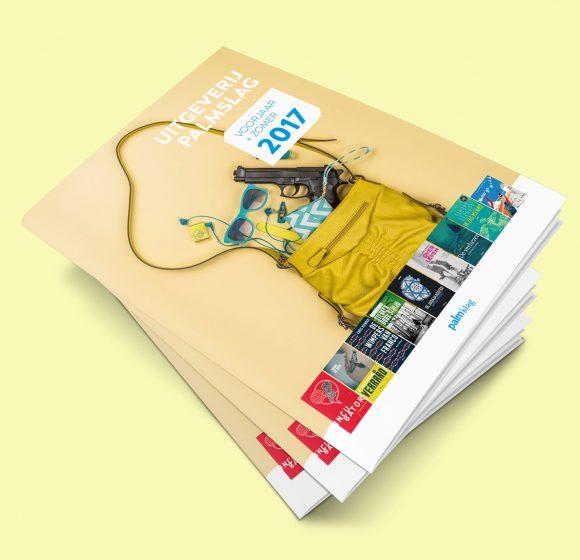 Voorjaar + zomerbrochure 2017 uitgeverij Palmslag